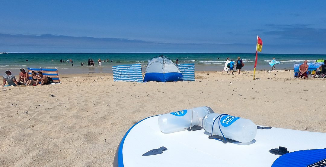 Hydration On Inflatable Paddle Board's